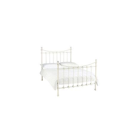 Debenhams - Antique white +Alice+ bed frame
