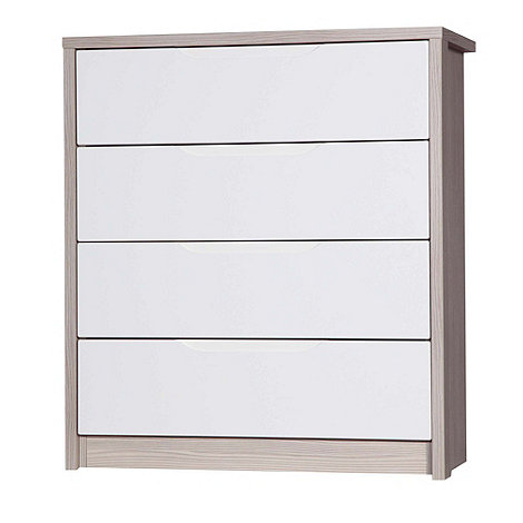 Debenhams - Champagne and cream +Euston+ 4 drawer chest