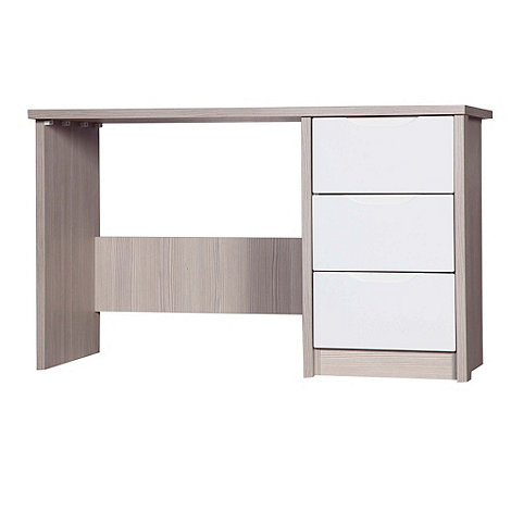 Debenhams - Champagne and cream +Euston+ dressing table with mirror