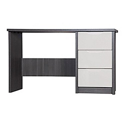 Debenhams - Sand and grey 'Euston' dressing table with stool
