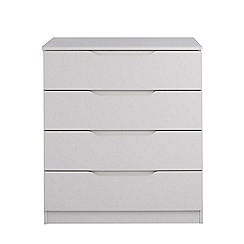 Debenhams - Grey 'Brighton' 4 drawer chest