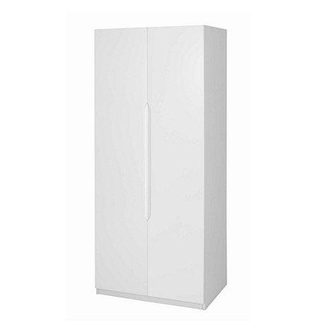 Debenhams - White +Brighton+ double wardrobe
