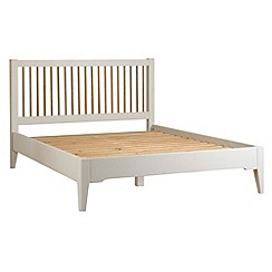 Debenhams - Oak and painted 'Wadebridge' bed frame