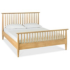 Debenhams - Oak finished 'Satellite' bed frame