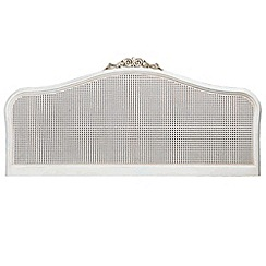 Willis & Gambier - Ivory 'Chateau' headboard