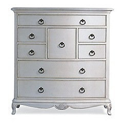 Willis & Gambier - Ivory 'Chateau' 8 drawer chest