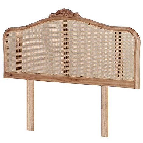 Willis & Gambier - Oak 'Chateau' headboard
