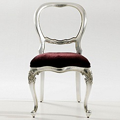 Willis & Gambier - Silver 'Argent' chair