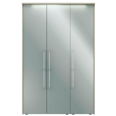 Consort Furniture Blue gloss finish ´Ultra´ 3 door wardrobe - . -