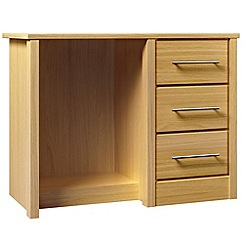 Consort Furniture - Oak finished 'Camara' dressing table