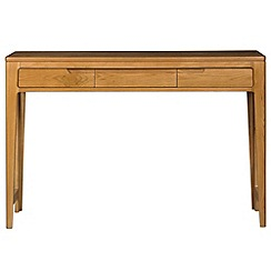 Debenhams - Oak finished 'Nord' dressing table