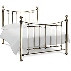 Debenhams - Antique brass 'Isabelle' bed frame