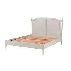 Willis & Gambier - Oak and painted 'Florence' bed frame