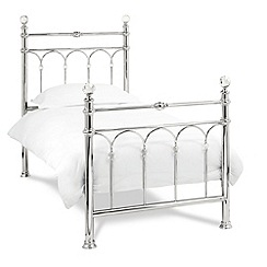 Debenhams - Chrome 'Krystal' bed frame