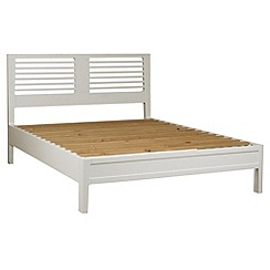 Debenhams - White 'Nord' bed frame