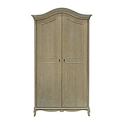Willis & Gambier - Oak 'Francois' double wardrobe