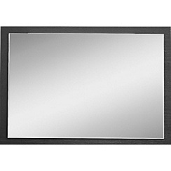 Debenhams - Black 'Hazel' wall mirror