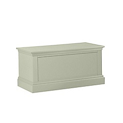 Debenhams - Pale green 'Oxford' storage chest