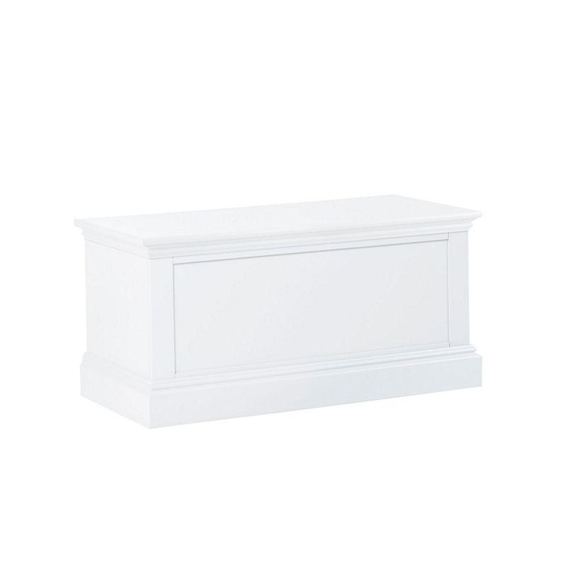 Debenhams - White Oxford Storage Chest
