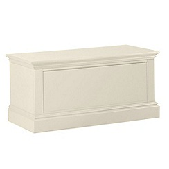 Debenhams - Cream 'Oxford' storage chest