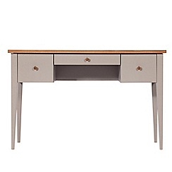 J by Jasper Conran - Oak and grey painted 'Farringdon' dressing table