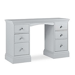 Debenhams - Pale blue 'Oxford' dressing table