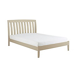 Debenhams - Pale green 'Oxford' bed frame