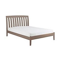Debenhams - Dark grey 'Oxford' bed frame