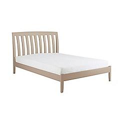 Debenhams - Taupe 'Oxford' bed frame