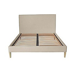J by Jasper Conran - Cream upholstered 'Farringdon' bed frame