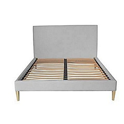 J by Jasper Conran - Grey upholstered 'Farringdon' bed frame