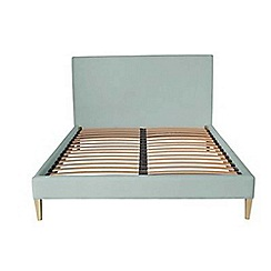 Jasper Conran - Blue upholstered 'Farringdon' bed frame