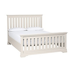 Debenhams - Grey 'Oxford Imperial' bed frame