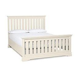 Debenhams - Cream 'Oxford Imperial' bed frame