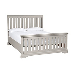 Debenhams - Taupe 'Oxford Imperial' bed frame