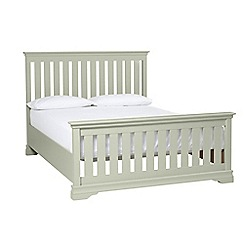 Debenhams - Pale green 'Oxford Imperial' bed frame