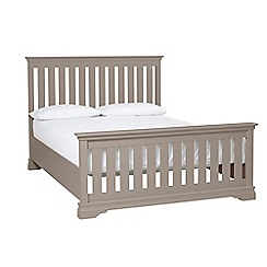 Debenhams - Dark grey 'Oxford Imperial' bed frame