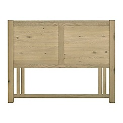 Debenhams - Oak 'Turin' headboard