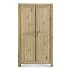 Debenhams - Oak 'Turin' double wardrobe