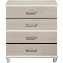 Debenhams - Elm effect 'Hazel'  4 drawer chest
