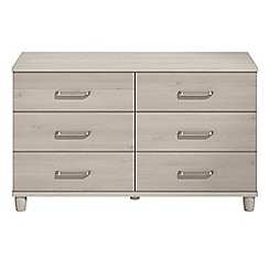 Debenhams - Elm effect 'Hazel' 6 drawer chest