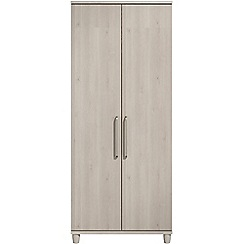 Debenhams - Elm effect 'Hazel' double wardrobe