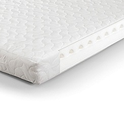 Debenhams - 'Airwave' foam cotbed mattress