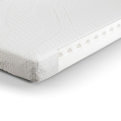 Debenhams - 'Clima Smart' foam cotbed mattress