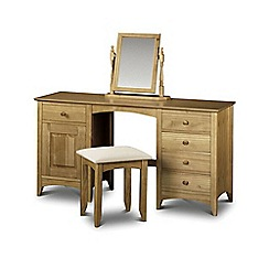 Debenhams - Pine 'Barcelona' dressing table and stool