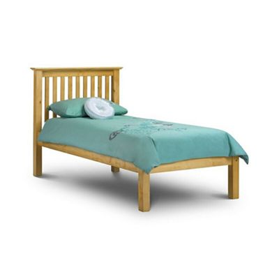 Debenhams Grey Oxford single bed frame Debenhams