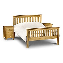Debenhams - Pine 'Barcelona' bed frame