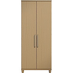 Debenhams - Oak effect 'Hazel' double wardrobe