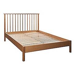 Debenhams - Oak 'Mid Century' bed frame