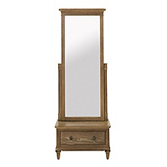 Willis & Gambier - 'Evangeline' cheval mirror